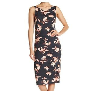 Threads 4 Thought Lara Floral Sheath Dress NWOT